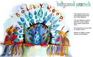 bradford carnival 2014 Bollywood Peacock to send