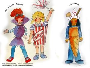 bradford carnival 2014 kids pick and mix popcorn icecream to send