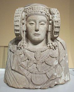 Lady of Elche frontal