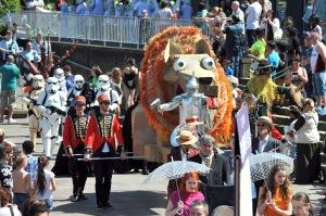 Lord Mayor's Carnival Parade, Bradford. 17.05.14