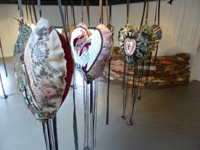 fb hearts installed at rheged07