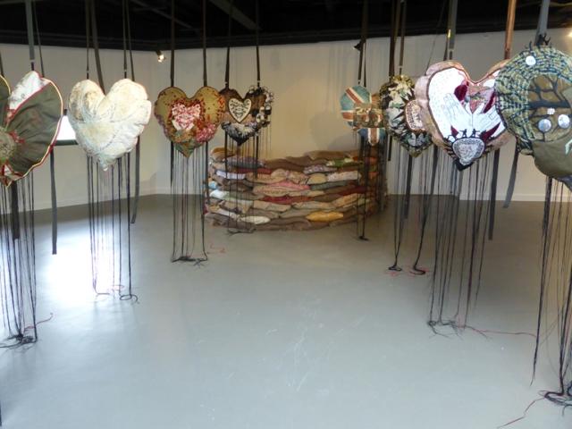 fb hearts installed at rheged09