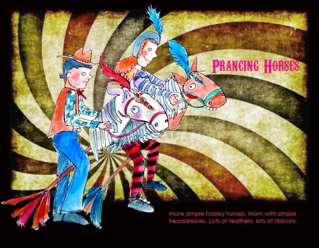 Prancing Horses 2