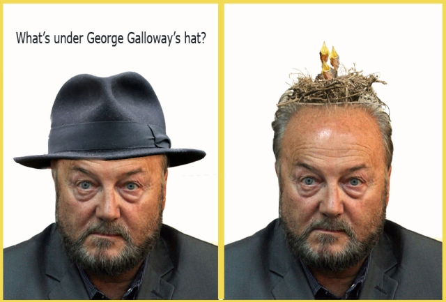 whats under galloways hat 9th April