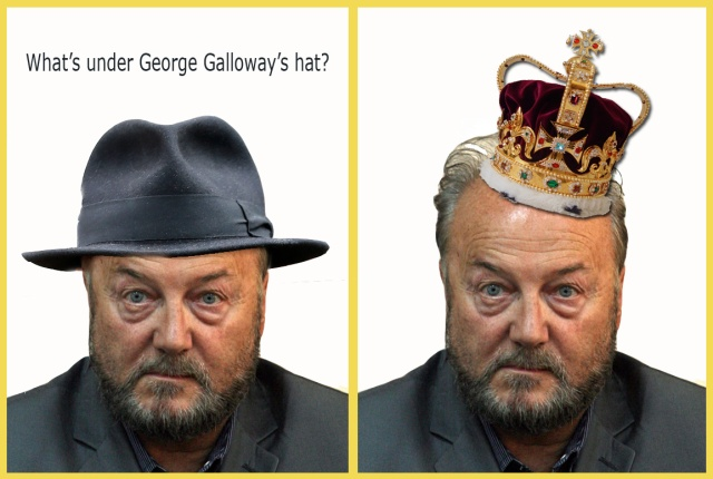 whats under galloways hat crown