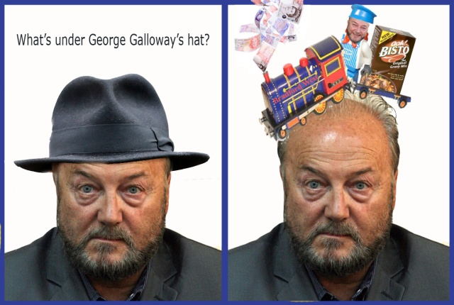 whats under galloways hat gravy train