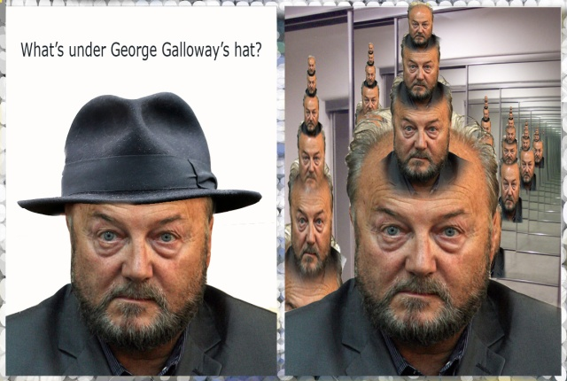 whats under galloways hat infinity