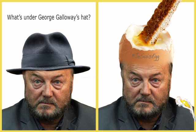 whats under galloways hat JeSuisEd