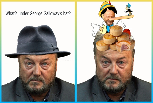 whats under galloways hat pinocchio
