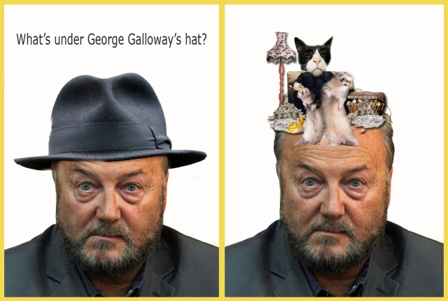 whats under galloways hat rich cat