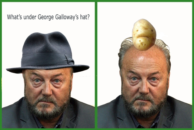 whats under galloways hat sad potato