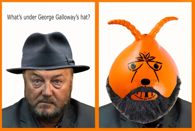 whats under galloways hat space hopper