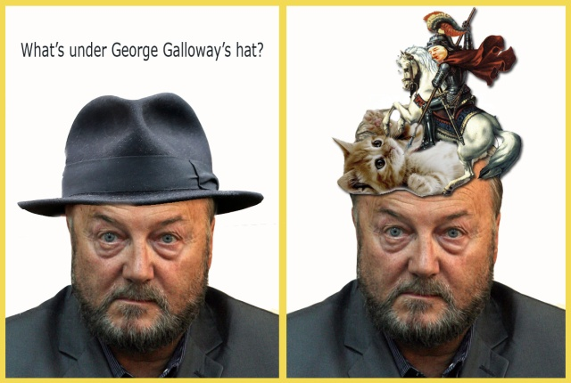 whats under galloways hat st george