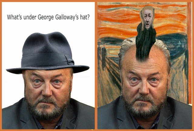whats under galloways hat the scream