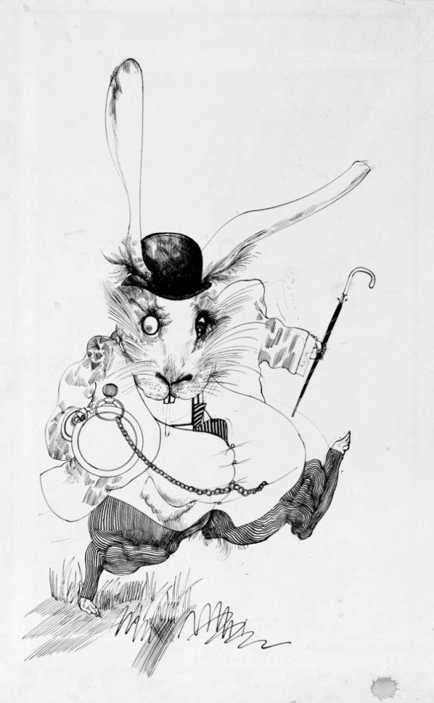 ralph steadman white rabbit