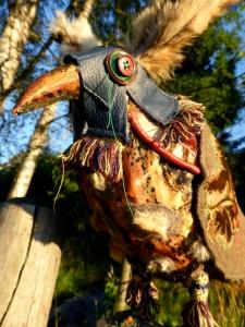 fb blue hood bird 14 Aug 1502