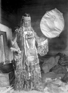 siberia evenki shaman woman